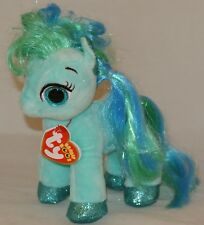 """New! 2018 Summer Release Ty Beanie Boos TOPAZ the little pony  6"""" new foil look"""