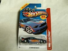 Hot Wheels  2013 HW Racing Race Team Blue '13 Ford Mustang GT 106/250 X1619