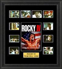 Rocky 4 1985 Mounted Framed 35mm Film Cell Memorabilia
