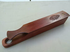 Turkey Call Long Box Jack Lewis Pappy's Game Calls Lilourn Missouri 2008 Signed