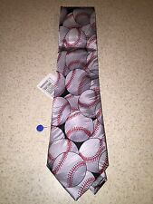 "Keith Daniels Baseball Tie ""Play Ball Series"" 6 of 6 NWT MSRP $29.99 Only 9.99"