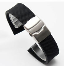 18m 20 22mm rubber Band Silicone Strap bracelet Buckle (FITS) Oris BC3 Day Date
