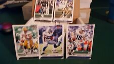 2001 FLEER FOCUS FOOTBALL 180 CARD SET  NO ROOKIES