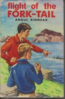 CHILDRENS , HC/DJ , FLIGHT OF THE FORK-TAIL by ANGUS KINNEAR , 1969
