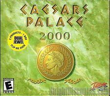 CAESARS PALACE 2000 Caesar's Casino Cards PC Game NEW