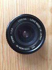 Cosinon-W 28mm 1:2 Lentes .8