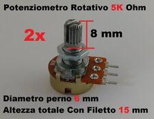 Potenziometro 1K Ohm di Precisione a Filo 5W Lineare Monogiro