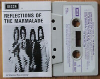 THE MARMALADE - REFLECTIONS OF THE ... (DECCA SKC5047) 1970 UK CASSETTE TAPE VG+