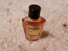 Vintage Charles V Paris Parfum Mini Perfume Croyance