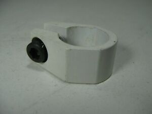"""1987 TORKER 280 AIR TUF NECK STYLE 1"""" SEAT POST CLAMP WHITE"""