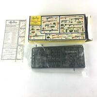 HELLER ARMES ET EQUIPEMENTS 1/35 - Vintage - Incomplete