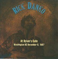 RICK DANKO - LIVE AT DYLAN'S CAFE, WASHINGTON D.C., DECEMBER 1987 VG++ CD
