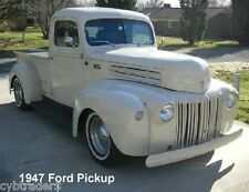 1947 Ford Pickup Truck  Auto Refrigerator / Tool Box  Magnet
