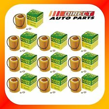 10 Pack OEM BMW Oil Filter Mann-Filter HU816x