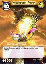 Carte DINOSAUR KING DKCG 121/160 JAVELOT ÉCLAIR