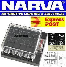 NARVA Fuse Block ATS 10 Way With Cover 54435