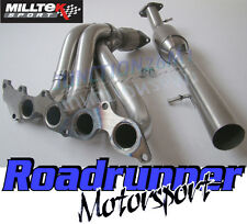 Milltek Fiesta ST150 Manifold & Sports Cat Stainless Steel Exhaust MK6 (05-08)