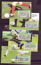 BRD 2003 postfrisch  Sport-Markenheftchen Satz MiNr. 2324-2328  Fußball