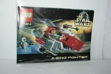 MANUALE LEGO STAR WARS 7134 A-WING FIGHTER USATO BUONO STATO FR1 55373