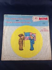 Vintage Child Record Yankee Doodle & Doggie In The Window Peter Pan Records 45