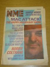 NME 1987 JAN 3 BIG COUNTRY MURIEL GRAY GUS MACDONALD