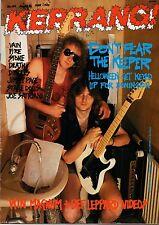 Helloween on Kerrang No: 199 Cover 1988  Jimmy Page  Joe Satriani  Vain  LA Guns