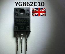 Diodo YG862C10R Fuji TO-220F YG862C10 UK Stock Nuovo di Zecca