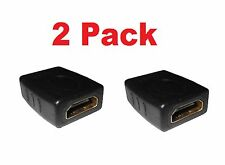 ( 2 Pack )  HDMI Female to HDMI Female Adapter Coupler