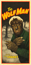 "The Wolf Man Movie Poster Replica 9.5 x 19"" Photo Print"