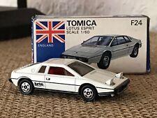 Tomica Lotus Esprit Rare White Tomy Pocket Cars