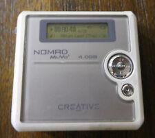 Creative Nomad MuVo2 4GB Digital Media Player DAP-MD0001