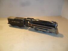 Marx - New York Central  0-4-0 494 Steam Engine & 551 Tender O Gauge Runs Good