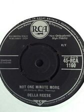 """DELLA REESE: NOT ONE MINUTE MORE   1959  7"""" single RCA1160"""