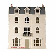 BEECHES DOLLS HOUSE , BEAUTIFUL GEORGIAN STYLE, WOODEN,12th SCALE NEW JULIE ANNS