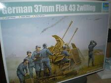 Trumpeter 1/35  German 37mm Flak 43 Zwilling #2347 #02347 *New Release*