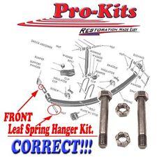 Mopar Cuda Challenger Roadrunner Charger Dart Front Leaf Spring Hanger Bolt Kit