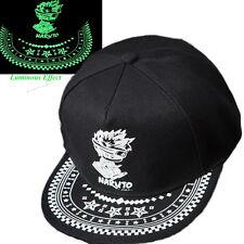 Anime Naruto Cotton Baseball Cap Snapback Print Sun Hat Cosplay Hip-hop Luminous