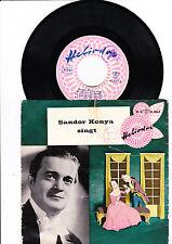 Sandor Konya singt