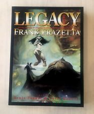 Frank Frazetta Legacy Hardcover Book w/ Slipcase First Edition Limited Rare New