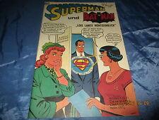SUPERMAN , Heft 4 , 25. März 1967 , mit  BATMAN ,  Reprint / DC Comics 1998