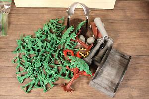 Lot of 46 True Heroes Toys R Us Medieval Adventures Figures Playset