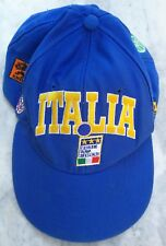 CAPPELLINO ITALIA USA 1994 BAGGIO AZZURRI ITALY CALCIO VINTAGE HAT CAPPELLO CAP