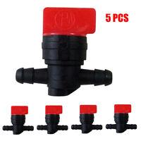 """5×1/4"""" Cut Off Shut Off valve 1/4"""" fuel line FOR Briggs Carburetor 698183 493960"""