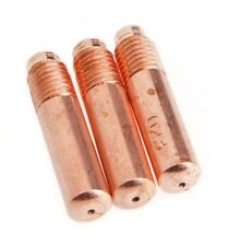 Forney 60164 Contact Tip for Mig Welding, Hobart or Miller, .023/.025, 3-Pack