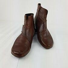 TAMARIS Damen Leder Stiefelette Schuhe Heels Shoes Boots Stiefel Chic braun - 38