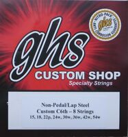 GHS Lap Steel Guitar Strings C6th - 8 Strings (2 Pack)