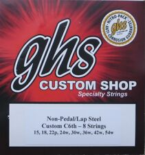 GHS Lap Steel Guitar Strings C6th - 8 Strings