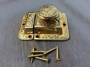 EastLake * Brass Cupboard Cabinet Lock/Latch