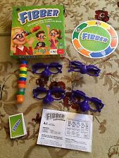 Fibber Board Game by Spin Master Age 7+ - 100% COMPLETE!