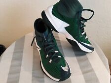 Nike Zoom Clear Out - Green/White Basketball Shoes (Men's 5) - Used